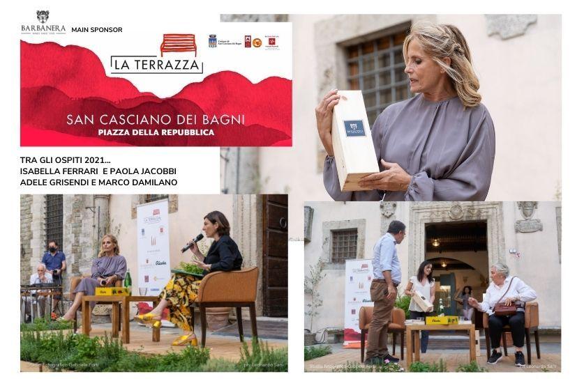 BARBANERA main sponsor dell'evento La Terrazza – Incontri a San Casciano dei Bagni