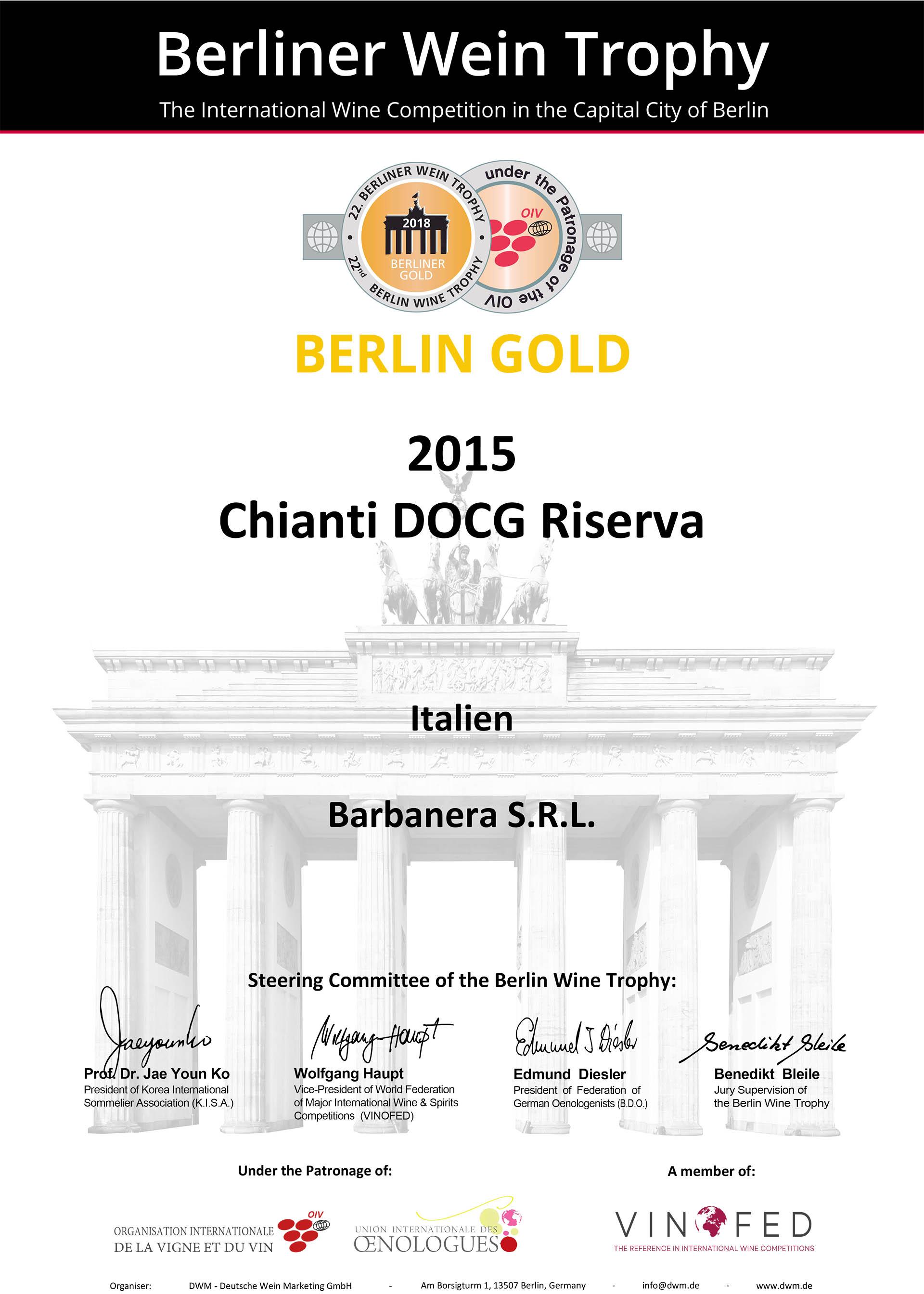 Medaglia d' Oro