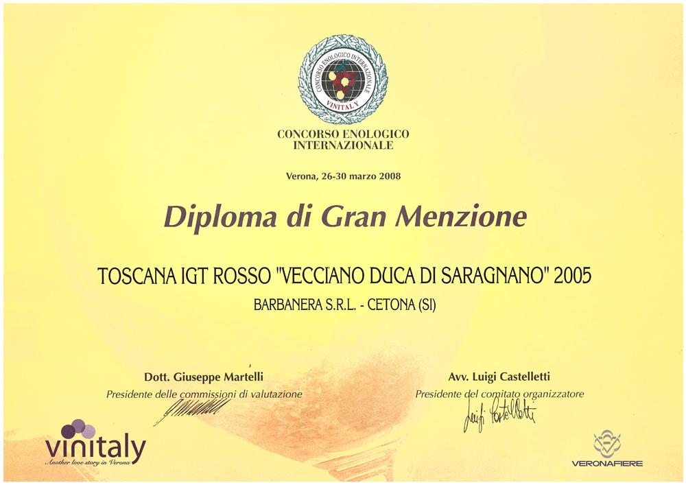 Diploma Gran Menzione