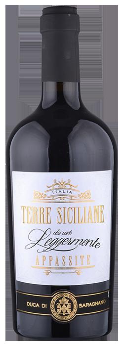 Terre Siciliane - Rosso IGT da uve leggermente appassite