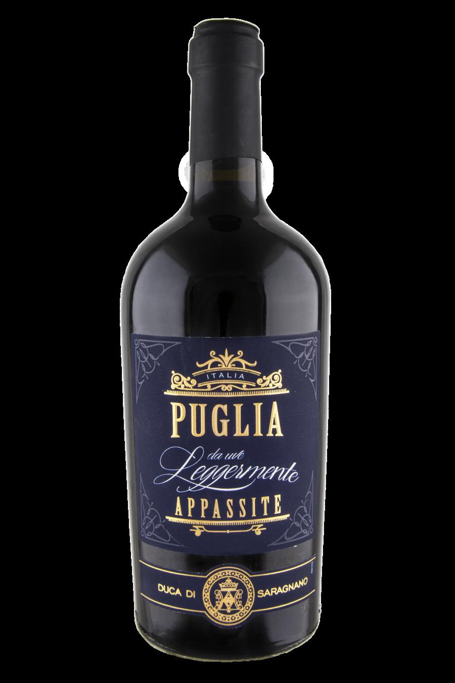 Puglia Rosso IGT da Uve Leggermente Appassite